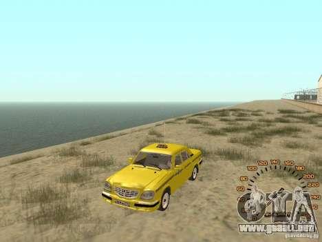 Gaz-31105 taxi para GTA San Andreas