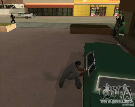 Car in Grove Street para GTA San Andreas twelth pantalla