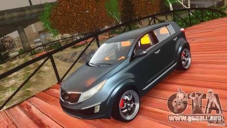 Kia Sportage 2010 v1.0 para GTA 4 vista interior