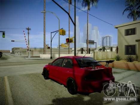 ENBSeries by Treavor para GTA San Andreas segunda pantalla