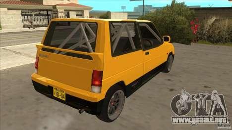 Suzuki Alto Euro para la visión correcta GTA San Andreas