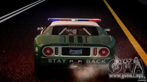 Ford GT1000 Hennessey Police 2006 [EPM][ELS] para GTA 4 ruedas