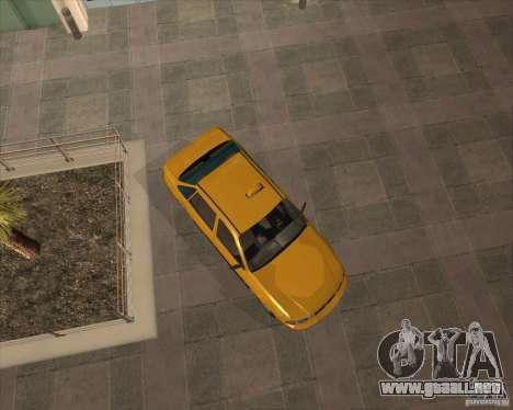 Daewoo Nexia Taxi para la visión correcta GTA San Andreas