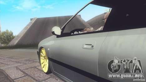 Peugeot 406 Rat Style para GTA San Andreas vista posterior izquierda