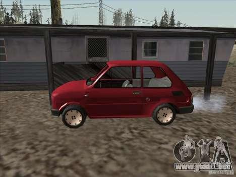 Fiat 126p Elegant para GTA San Andreas left