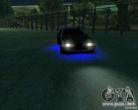 NEON mod para GTA San Andreas séptima pantalla