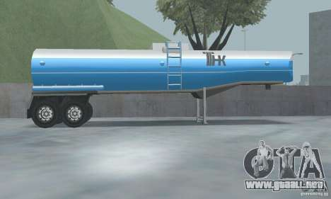 TNC-TNC combustible nuevo Trailer para GTA San Andreas tercera pantalla