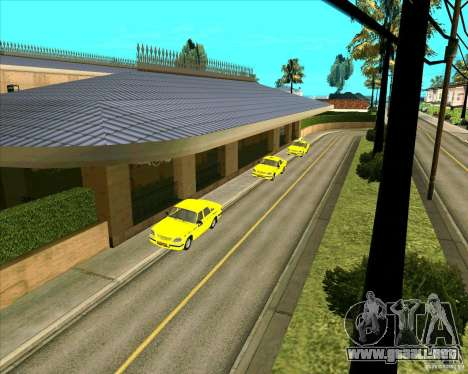 Priparkovanyj transporte v1.0 para GTA San Andreas tercera pantalla