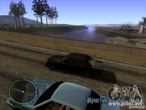 ENBseries v0.075 v3 para GTA San Andreas segunda pantalla