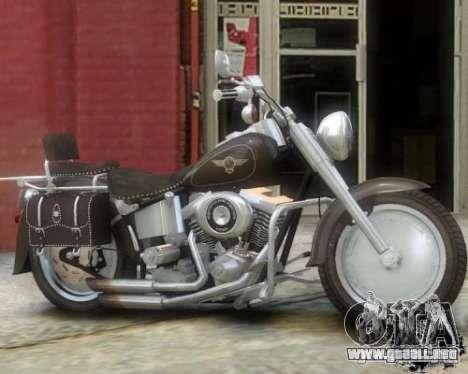 Harley Davidson FLSTF Fat Boy para GTA 4 left