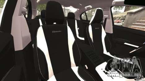 Volvo S60 R Design para GTA 4 vista interior