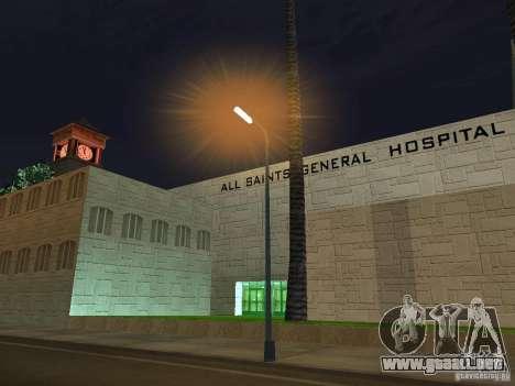 Nuevo hospital Hospital-nuevo para GTA San Andreas segunda pantalla