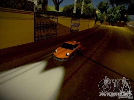 Porsche 997 GT2 para la visión correcta GTA San Andreas