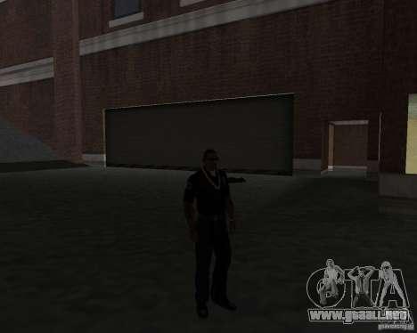 La labor de la policía. para GTA San Andreas
