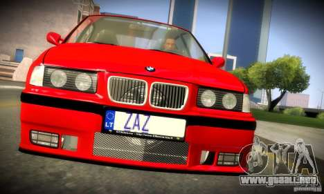 BMW M3 E36 para visión interna GTA San Andreas