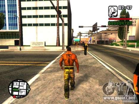 EnbSeries by gta19991999 v2 para GTA San Andreas quinta pantalla