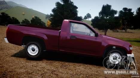 Chevrolet Colorado 2005 para GTA 4 left