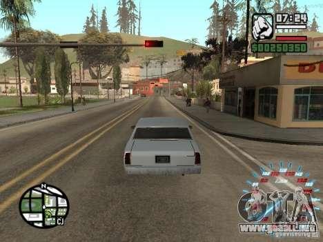 Neon Style Speedometr para GTA San Andreas