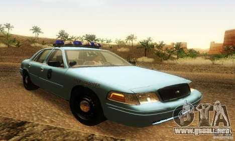 Ford Crown Victoria Maine Police para GTA San Andreas