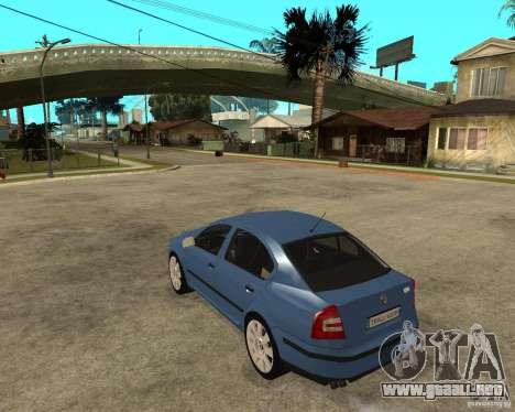 Skoda Octavia II. 2005 para GTA San Andreas