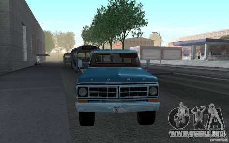 Ford F150 Ute 1976 para GTA San Andreas left