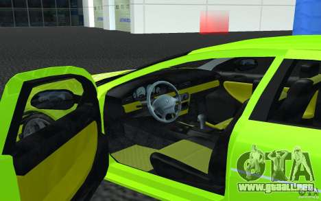 Volga Siber 2.5 AT Restailing para GTA San Andreas left