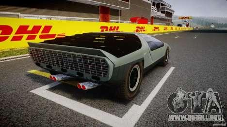 Alfa Romeo Carabo para GTA 4 vista interior