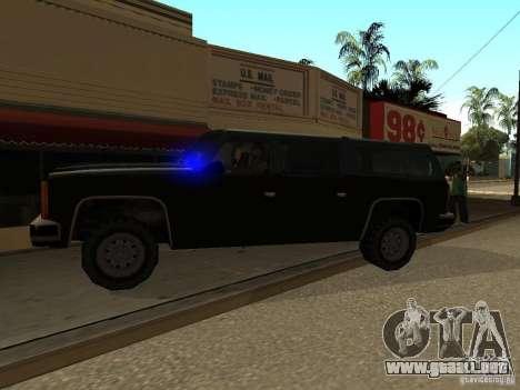 Policías camuflados para GTA San Andreas segunda pantalla