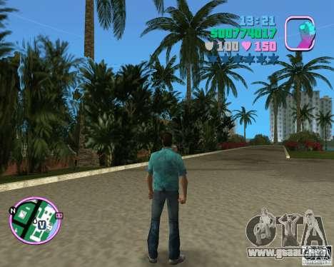 Tommy estándar en HD para GTA Vice City segunda pantalla