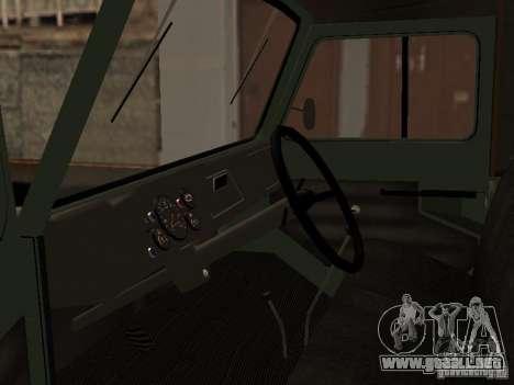 LuAZ 969 m para la visión correcta GTA San Andreas