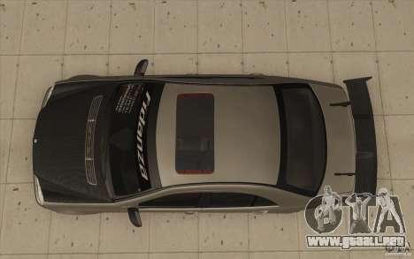 Mercedes-Benz C32 AMG Tuning para la visión correcta GTA San Andreas