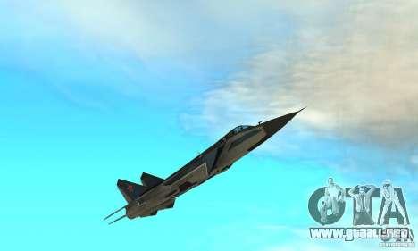 MiG-31 Foxhound para vista inferior GTA San Andreas