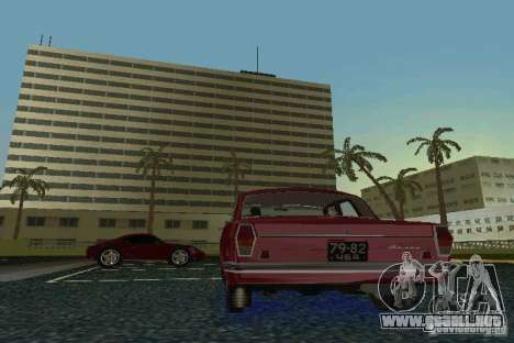 Volga GAZ 24 para GTA Vice City vista lateral izquierdo