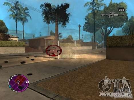 TBOGT HUD para GTA San Andreas segunda pantalla