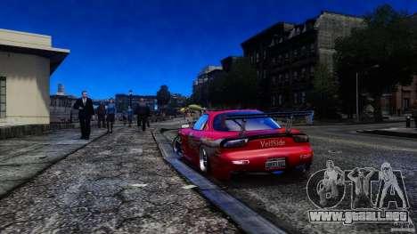 Mazda RX-7 FnF para GTA 4 left