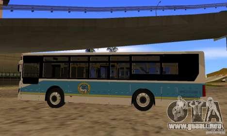 Daewoo Bus BC211MA Almaty para GTA San Andreas left