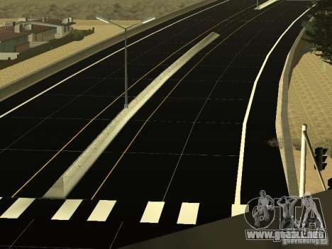New Roads in San Andreas para GTA San Andreas tercera pantalla