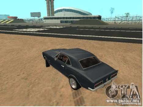 Chevrolet Camaro SS 396 Turbo-Jet para GTA San Andreas left