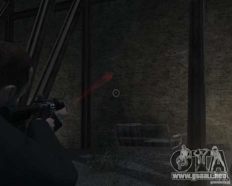 Flashlight for Weapons v 2.0 para GTA 4 séptima pantalla