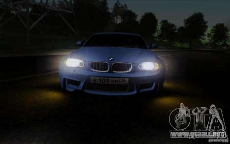 BMW 1M 2011 V3 para vista lateral GTA San Andreas