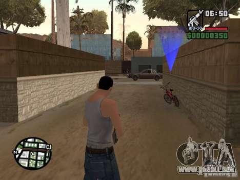 Skin para CJ-Cool guy para GTA San Andreas quinta pantalla