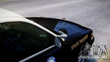 Ford Crown Victoria Fl Highway Patrol Units ELS para GTA 4 ruedas