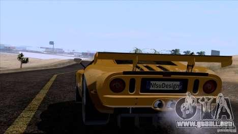 Ford GT Matech GT3 Series para las ruedas de GTA San Andreas