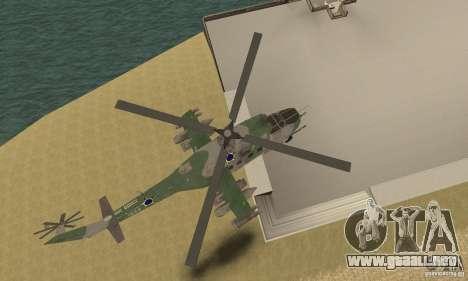 Un helicóptero desde el conflicto Global SSSR para visión interna GTA San Andreas