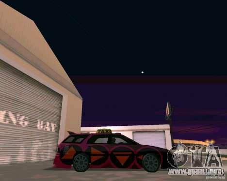 Stratum Tuned Taxi para la visión correcta GTA San Andreas