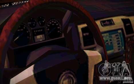 Nissan Fronter para la vista superior GTA San Andreas