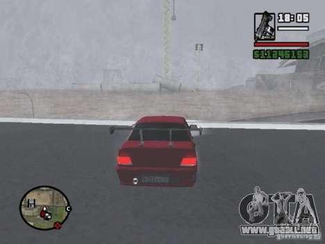 VAZ 2115 TUNING para la visión correcta GTA San Andreas