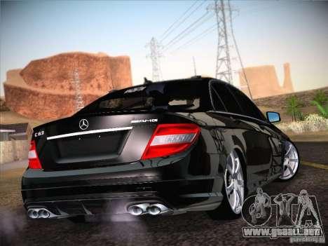 Mercedes-Benz S63 AMG para GTA San Andreas left