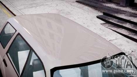Subaru Forester v2.0 para GTA 4 vista desde abajo