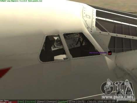 Concorde [FINAL VERSION] para GTA San Andreas left